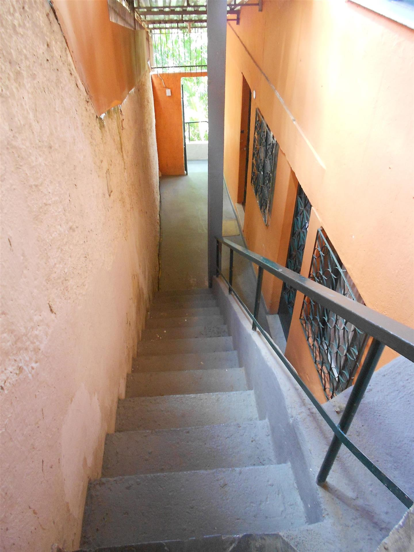 Steps Down To Rooms